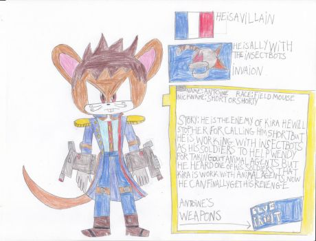 antoine in animals of the agents by Dustyamigoking