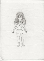 Midnight Skye Character Concept Design 1 by CromeTheHedgepire