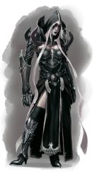 Female Mortal Malthael design for Kamui Cosplay by ZFischerillustrator
