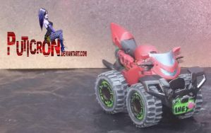 transformers : customs gobots smallfoot by puticron