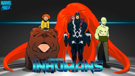 the Inhumans by theCHAMBA