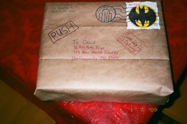 Birthday Parcel - Gotham by Bunnaroo