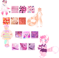 AESTHETIC ADOPTS | pink | 4/4 open | auction by irlnya
