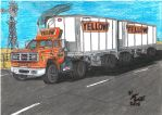 Yellow Freight Systems Circa 1985 by Deorse