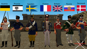 Soldiers of the napoleonic wars by Samuraiknight-1600