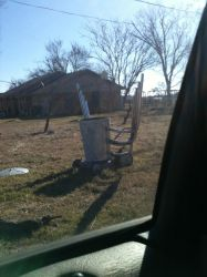 Red neck lawn mower by medic13