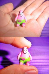 Polymer Clay Patrick by bhayolet