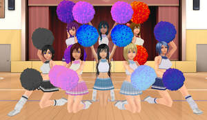 Cheerleading [Another pack?!] by NaminF