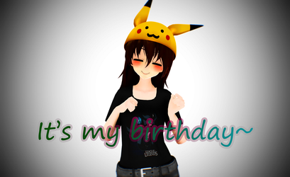 Today is my birthday! by Pokeloid1