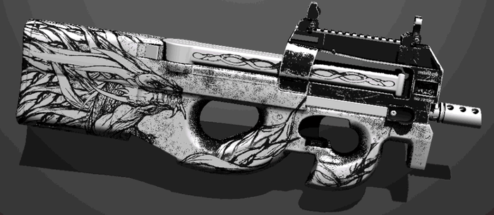 P90 (WIP) by RusticDusty