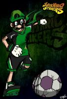 Mr. L Super Mario Strikers by mariogamesandenemies
