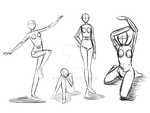 Poses by Chyche