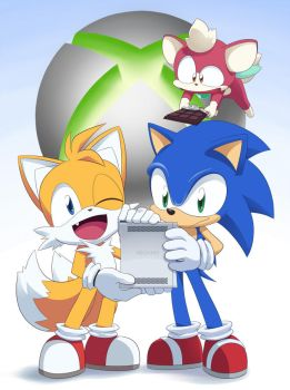 Xbox 360 Sonic Tails Chip by JAKCAR