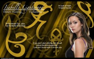 TMI: Isabelle Lightwood by Gemema537