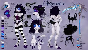 Munshine:: reference sheet by Herisheft
