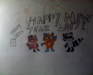 Happy new year from XL150!!!!! :D :D :D by chesterhtfexel150