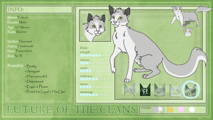 Fishpaw Application: Future of the Clans by MatsuKami