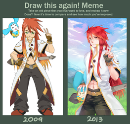 Draw this again! by BLACKlbutterfly by BLACKlbutterfly