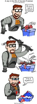 A day in the life of Gordon by Aniforce