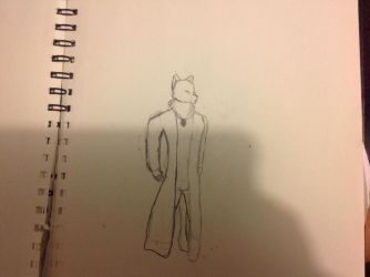 My Fursona (not finished) by aa60357