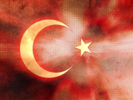 The Turkish Flag by deathrimental