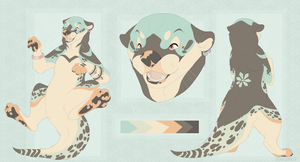 Paradises Pleasure Otter Design Auction by Salt-Dog