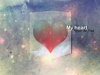 My heart wallpaper by MF21