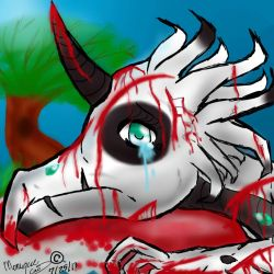 Dying Dragon by Da-Drawing-Cat-601