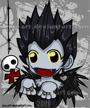 Ryuk - Death Note by amy-art