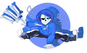 dancetale sans genocide by purikins