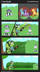 Tree Buds: 1: The Spy in the Bush by PacificGreen