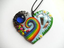 Big Heart Necklace by Victorian-Princess