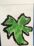 My lucky clover painting by Callewis2