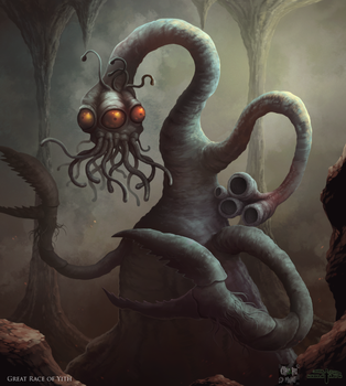 Cthulhu Project - Great Race of Yith by Serathus