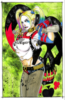 Suicide Squad Harley Quinn by Hodges-Art