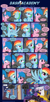 Dash Academy Chapter 7 - Free Fall #22 by SorcerusHorserus