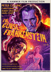 The Curse of Frankenstein - poster edit by Harnois75