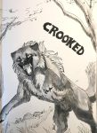 Inktober day 8 - Crooked by TorazTheNomad