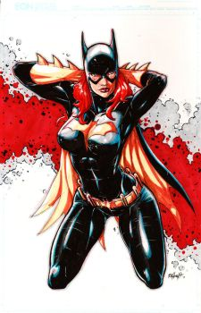 Batgirl Babs Markers by RAHeight2002-2012