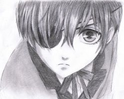 Ciel Phantomhive by Jeageractive