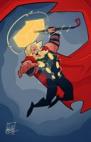 THOR by BOTAGAINSTHUMANITY