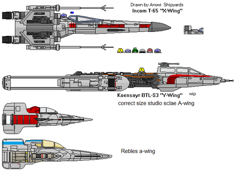 Reble fighters by AnowiShipyards