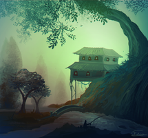 The Fishing Place by Frostwindz