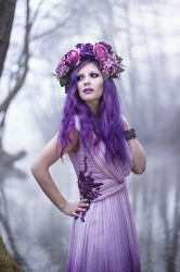 Purple Fairy by DarkVenusPersephonae