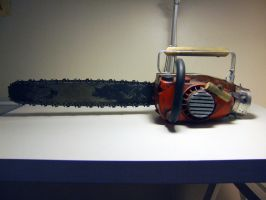Ash's Chainsaw by ForgedwithFire