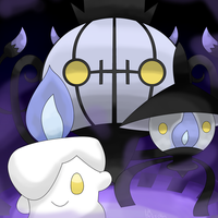 Litwick Lampent Chandelure_remake