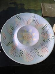 Rainbow Serpent Platter by 2lbox