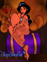 Jasmine's Dirty Feet by PrincessesBeingBad