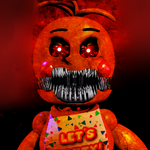 Nightmare Toy Chica by M1DN1GH7-KUN