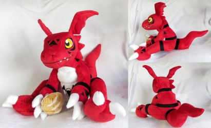 Guilmon by MagnaStorm